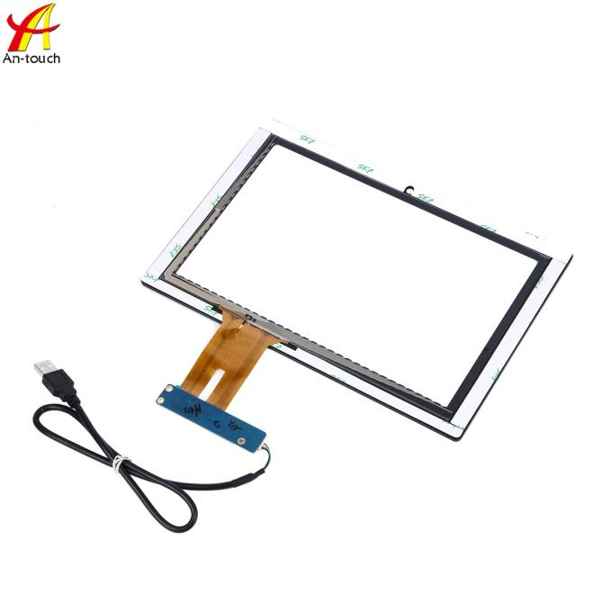 Explosion Proof Projected Capacitive Touch Panel 10.1 Inch With Glass Panel
