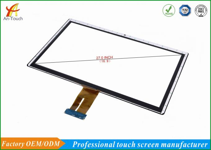 Capacitive 27 Inch Medical Touch Screen Display Panel With Touch Sensor