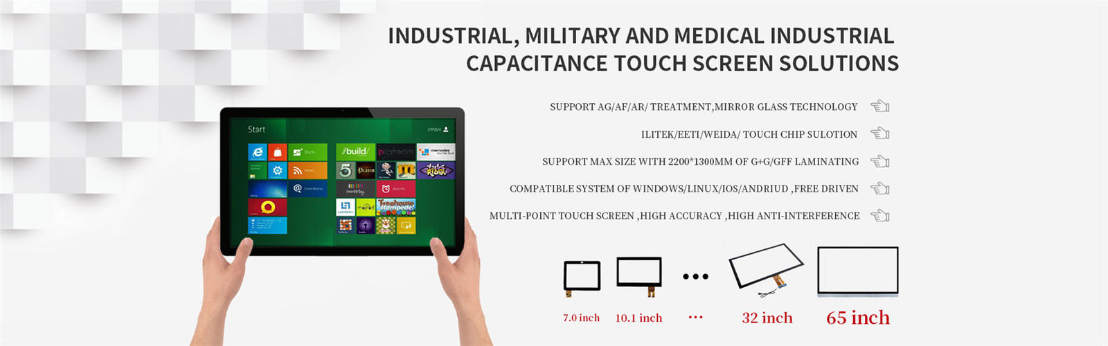 China best Projected Capacitive Touch Panel on sales