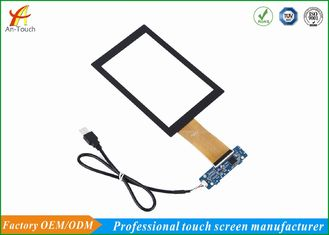Public Model Car Touch Screen , Car Navigation 7 Touch Panel GG Structure