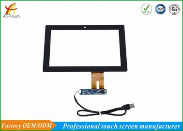 China Explosion Proof Projected Capacitive Touch Panel 10.1 Inch With Glass Panel supplier