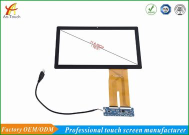 China Portable Waterproof Touch Panel For Tablet , 11.6 Inch Multi Touchscreen Display Overlay supplier