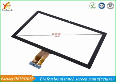 China Capacitive 27 Inch Medical Touch Screen Display Panel With Touch Sensor supplier