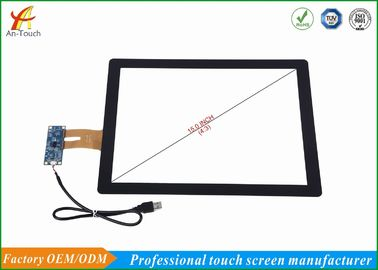 China ATM 15 Inch Capacitive Touch Screen Overlay Response Speed Fast , Smooth Touch supplier
