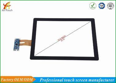 China Waterproof Interactive Usb Touch Panel , Karaoke Player Touch Screen 15 Inch supplier