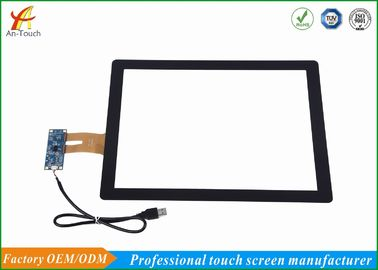 China 15 Inch All In One Touch Screen , Capacitive Screen Touch Kit For Windows Systems supplier