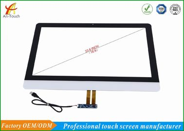 10 Point Smart Home Touch Screen Digitizer Glass Panel 4096x4096 Resolution