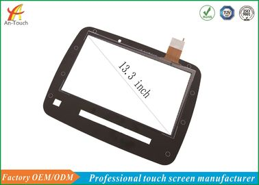 13.3 Inch Usb Touch Screen For Laptop / Usb Powered Monitor Touch Screen Panel