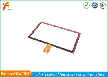 High Positioning Projected Capacitive Touch Panel For Public Pay Phones