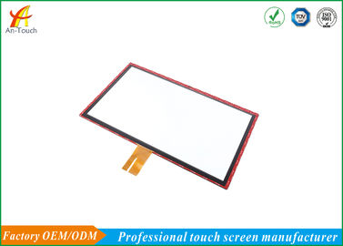 10 Points Touch Projected Capacitive Touch Screen , Lcd Capacitive Touchscreen