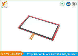 Dustproof Tft Capacitive Touchscreen / Wear Resistance Multi Touch Screen Panel