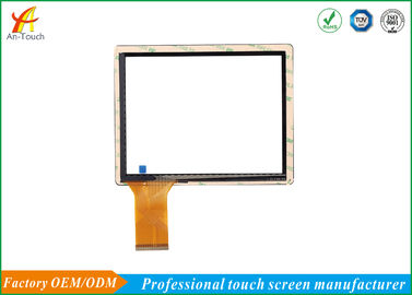 Flexible 8 Inch POS Touch Panel With USB Port Cover Glass + ITO Glass