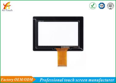 Multi Touch Flexible Car Touch Panel For Taxi / Truck / Vehicle 302.0*204.0mm