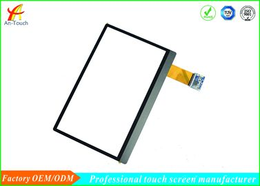 Glass Capacitive Touchscreen Display / Durable Industrial Hmi Touch Panel