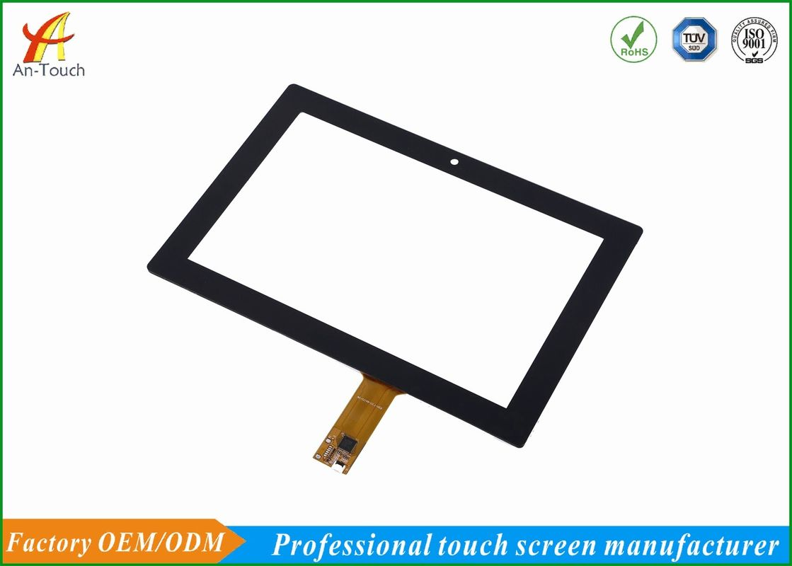 10.1 Inch Projected Capacitive Touch Panel , Multi Touch Screen Panel Anti Collision