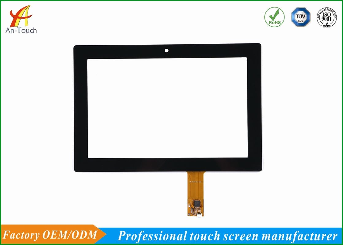 Glove Touch High End Kiosk Touch Panel , 10.1 Inch I2c Touch Display Screen supplier