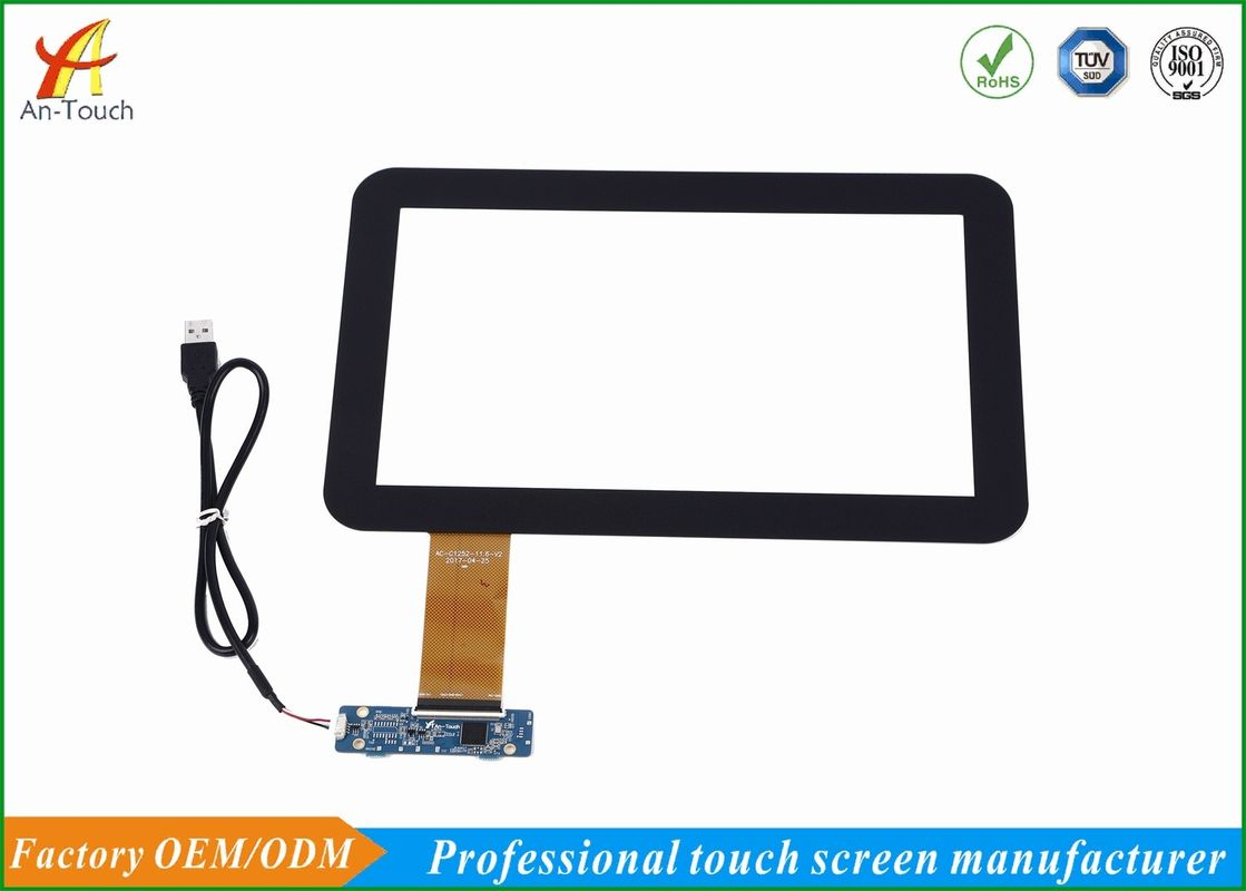 USB Powered Monitor Touch Screen , 11.6 Touchscreen Panel High Precision LCD