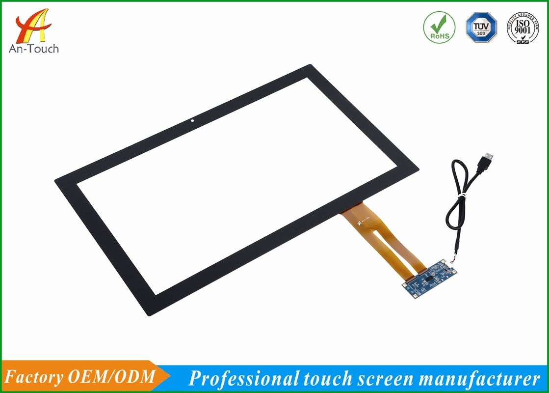 Water Resistant Usb Touchscreen Display , 10 Point 18.5 Touch Screen For Medical Equipment supplier