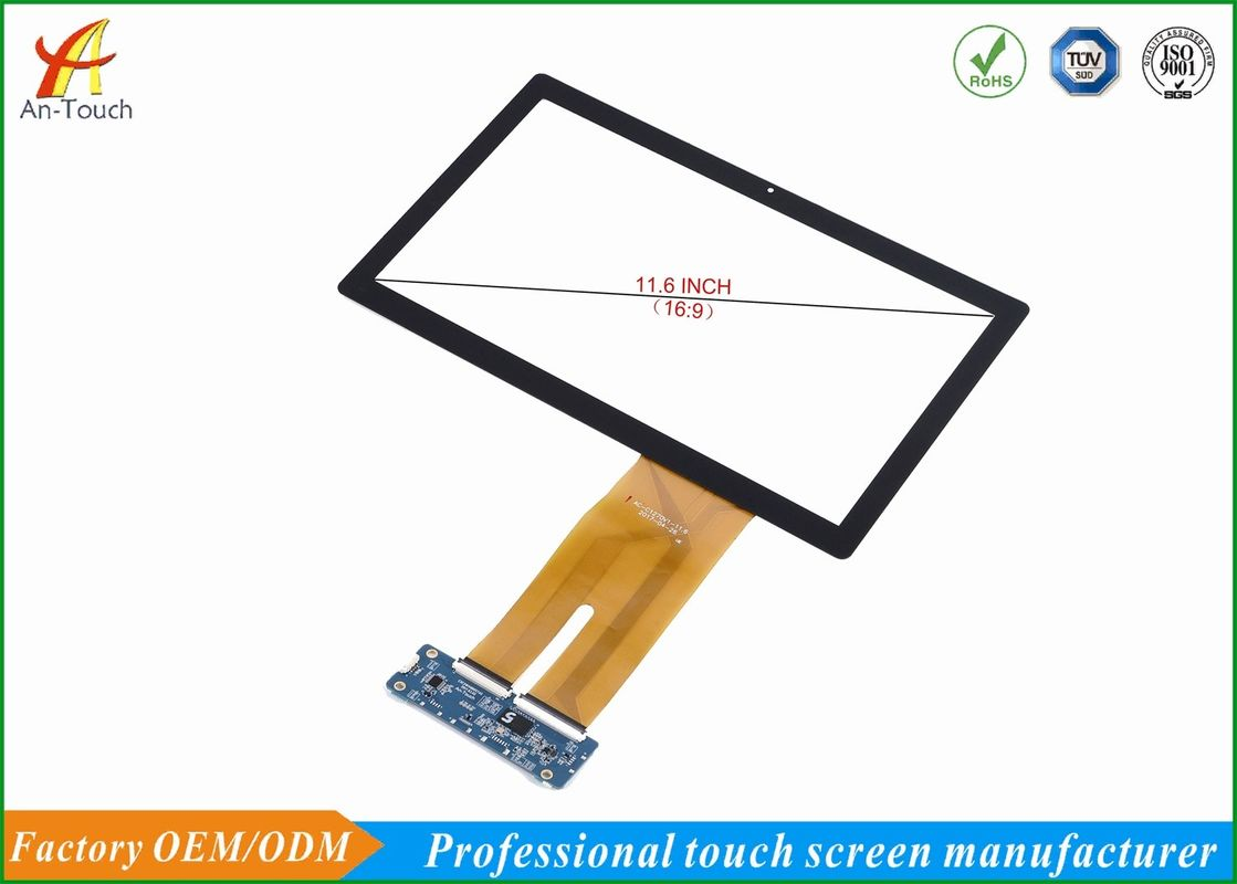 Waterproof 11.6 Inch Capacitive Touch Screen Panel For Cash Register supplier