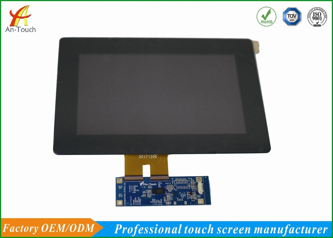 Scratch Resistant LCD CTP Touch Screen Overlay Kit 800x480 Landscape