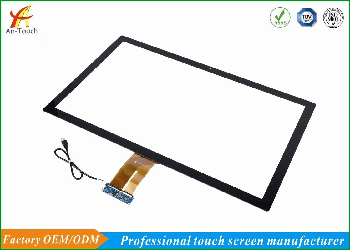 Projected Capacitive Large Touch Screen 32 Inch For Advertising Machine supplier