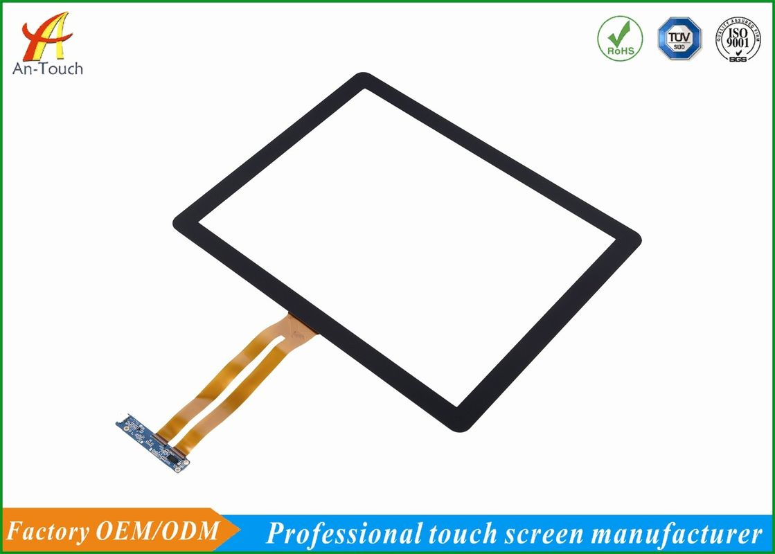 Sensitive Waterproof 17 Inch Touch Panel 2mm Front Glass For Coffee Table supplier