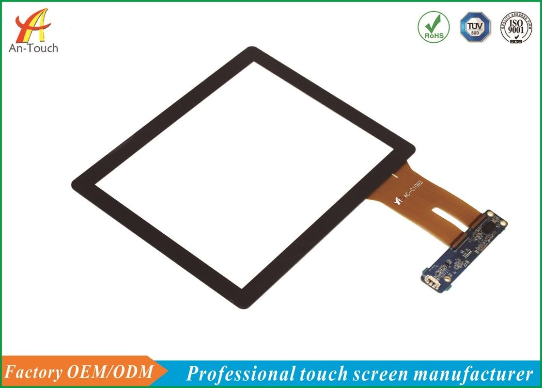 Professional 8 Inch Smart Home Touch Panel , Open Frame Touch Screen Panel supplier