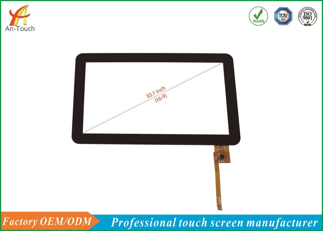 High Transparency Smart House Touch Screen Panels 10.1 Inch Capacitive supplier