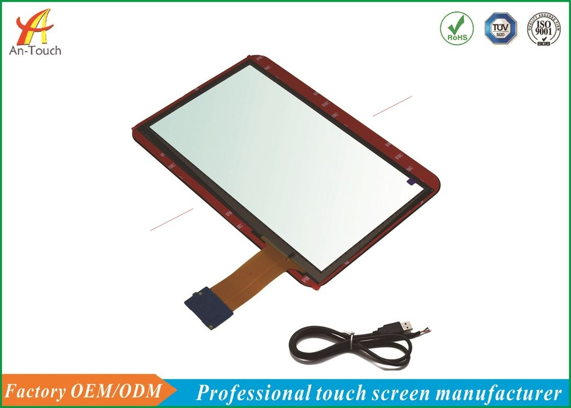 USB POS Touch Panel , 12 5 Inch ATM Machine Touch Screen For