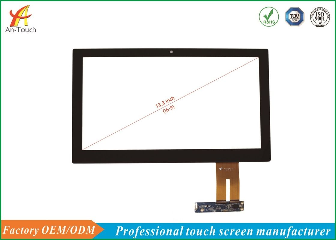 13.3 Inch Waterproof Touch Panel , Tablet Touch Screen Digitizer Replacement supplier