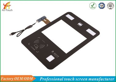 12.1 Industrial Touch Panel Glass To Glass Structure For Fingerprint Module Touch Terminal