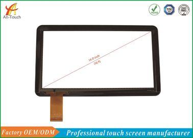 Customized Capacitive Touch Panel 14 Inch , Transparent Touch Screen For Android