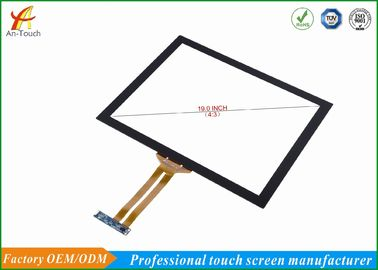 Anti Glare USB Touch Screen Large Format , Flexible Touch Panel Fast Response